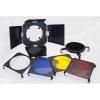 3 in 1 Barndoor Kit for 160A Studio Flash